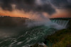 Horseshoe Falls at Dawn (lfeng1014) Tags: horseshoefallsatdawn horseshoefalls niagarafalls atdawn sunrise ontario canada dramaticsky landscape canon5dmarkiii ef1635mmf28liiusm longexposure leefilters 08second misty mistymorning mist lifeng
