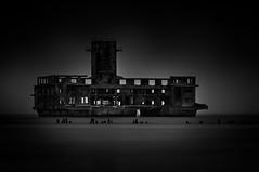 Passenger liner (4eye) Tags: 4eye polska poland blackandwhite bw monochrome amateur 18105mmf3556gvr world