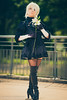 la spezia comics 2018 (Sandro Gherbassi 1968) Tags: cosplay cosplayer cosplaygirl costume legs comics manga laspeziacomics bokeh portrait outdoor girl female young younggirl