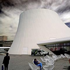 Le Volcan du Havre (pom'.) Tags: panasonicdmctz101 lehavre 76 seinemaritime normandie france europeanunion architecture levolcan sky clouds oscarniemeyer 100 200 may 2018
