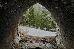 Splügenpass - Abandoned Road Tunnel