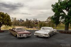 New Frontier Inspired (Ken Hendricks and Larry Patchett) Tags: maisto 1960 ford starliner jada chevrolet impala 124scale diecast model cars