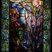 The Message of the Angel to the Shepherds, 1900, Arlington Street Church, Boston 5/11/18 #tiffanywindows #stainedglass