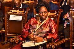 Speaker Rebecca Kadaga attending 8th AIM Conference