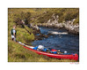 Andrew and the Old Town Canoe 073 (The Terry Eve Archive) Tags: paddle riverkirkaig inverpolly naturereserve wilderness moorland
