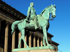 Prince Albert, Liverpool, England (teresue) Tags: 2017 uk unitedkingdom greatbritain england merseyside liverpool stgeorgeshall limest princealbert publicart statue