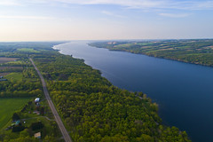The Crossing (Owasco) (Matt Champlin) Tags: tgif friday weekend life nature spring springtime beautiful lake flx fingerlakes protection protected landscape peace peaceful quiet calm calming aerial drone drones dji djiphantom4pro phantom4pro 2018 water environment jackkerouac