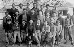 Class photo (theirhistory) Tags: children kids boys school class group form trousers jacket jumper shoes wellies boots