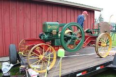 Newfane 066 (27) (swi66) Tags: dunkirk hit miss motors diesel cannons farm tractor john deere antique historical