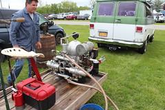 Newfane 066 (13) (swi66) Tags: dunkirk hit miss motors diesel cannons farm tractor john deere antique historical