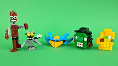 Guardians of the Galaxt minibuilds (BRICK 101) Tags: lego gotg marvel