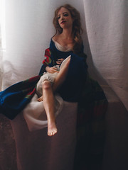 Romantic Wonders-5231572 (romantic wonders) Tags: drawing handmade doll ooak romantic wonders painting sculpting silk embroidery collection beautiful
