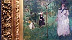 Morisot, Hunting Butterflies (detail)