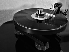 Thirty Seconds and Thirty Three and a Third RPM (brandoninidaho1979) Tags: weeklythemechallenge turntable records record lp blackwhite motion 3313 slowshutter hdr vinyl