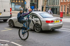 Cyclist London England 2018 (seifracing) Tags: cyclist london england 2018 seifracing spotting services europe emergency rescue recovery transport traffic britain british
