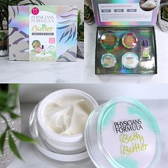 AD @physiciansformula is at it again! Their latest Butter Collection Box has a bronzer, blush, highlighter, Butter Paradise perfume AND a brand new Body Butter!! 😱 I have a full review, swatches and I'm giving away THREE of these boxes on the blog (My Beauty Bunny) Tags: instagram mybeautybunnycom my beauty bunny
