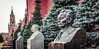The Great and the Dead (Andy J Newman) Tags: 2018 april russia moscow olympus om10 moskva ru kremlin soviet bust leader
