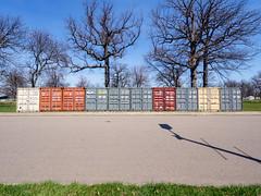 _4267346 (elsuperbob) Tags: detroit michigan belleisle concrete detroitgrandprix setup shippingcontainers newtopographics emptyspaces