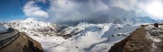 The Rainbow (d/f) Tags: schnee wolken bernina winter berninapassstrasse berninapass2328müm wetter berninapass clouds poschiavo graubünden schweiz ch