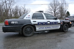 Upper Burrel Township Police Department (Emergency_Spotter) Tags: upper burrel township police department pa pennsylvania 2007 ford fleet crown victoria interceptor p71 blacked out center caps steelies