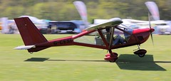 Aeroprakt A.22-L Foxbat G-CESI 5th May Popham Microlight Trade Fair 2018 (SupaSmokey) Tags: aeroprakt a22l foxbat gcesi