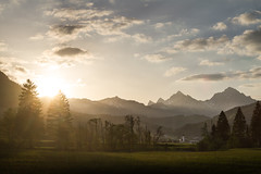 Magic Evening in Tyrol (crowfoto) Tags: sunset tyrol awesome alps mountains church rural village nature rays