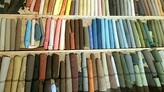 old pastels