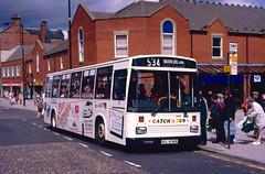 HIL 4349: Hylton Castle t/a Catch A Bus, East Boldon (chassis originally SUG 595M) (chucklebuster) Tags: hil4349 sug595m hylton castle catch bus west yorkshire pte leyland atlantean east lancs sprint