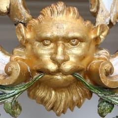 Compton Verney (richardr) Tags: comptonverney lion face sculpture artgallery gallery warwickshire midlands themidlands england english britain british greatbritain uk unitedkingdom europe european old history heritage historic gold
