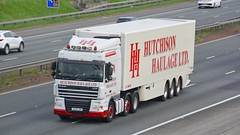 HH09 JMH (panmanstan) Tags: daf xf wagon truck lorry commercial freight transport haulage vehicle a1m fairburn yorkshire