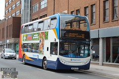 Stagecoach Manchester MX08UCH (Mike McNiven) Tags: stagecoach manchester altrincham interchange wythenshawe cheadle stockport alexanderdennis enviro400 enviro adl trafford
