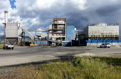 Biomass Power Plant, Loyalton, California (globetrekimages) Tags: california powerplant industrial industry