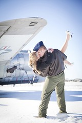 (aeroman3) Tags: airforce dan february kaydi mn stpaul boy couple cute engagement girl happy joy love man military session snow woman