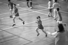 Happines. (BambaataaRR) Tags: soccer football boy run black white
