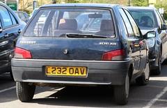 L232 OAV (3) (Nivek.Old.Gold) Tags: 1993 peugeot 106 xr 5door 1124cc timbrintoncars cambridge