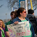 Milwaukee Public School Teachers and Supporters Picket Outside Milwaukee Public Schools Adminstration Building Milwaukee Wisconsin 4-24-18  1050