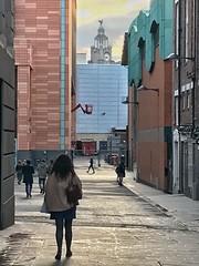 Liverpool One / Liver Building, Liverpool, England (PaChambers) Tags: liverbuilding liverpool england uk northwest greatbritian unesco urban maritime city europe architecture scouse