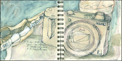 Todavía estoy enferma. 27 de abril, 2018. (Sharon Frost) Tags: brooklyn camaras 71op sharonfrost drawings paintings journals sketchbooks stonehenge