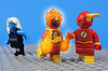 Flash, Fire, and Ice (-Metarix-) Tags: lego minifig dc comics comic flash firestorm killer frost rebirth universe cw tv show