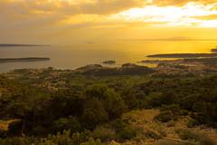 Sunset over Rab island. (Gergely_Kiss) Tags: tranquility sunset croatianislands viewpoint kamenjak horváttengerpart horvátország croatia hrvatska rabisland otokrab rab