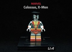 Colossus, X-Men Marvel (L1n6zz) Tags: xmen lego minifigfx marvel colossus