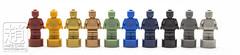 Statuettes (mikechiu86) Tags: lego tiny mini small figures minifigures trophy trophies statuettes collectible rainbow colourful cute micro microfig microfigure toy toys