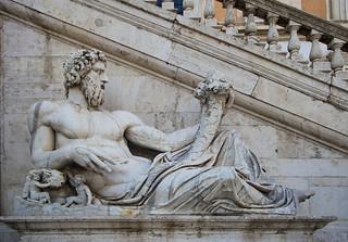 Statue of Neptune designed by Michelangelo
