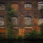 Canalside works by Barker Bridge, Lower Loveday Street. thumbnail