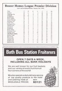 Bath City vs Crawley Town - 1989 - Page 26