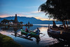 Morning From Beratan Lake (gedelila) Tags: danau beratan ulundanu bali tabanan perahu lake morning indah pariwisata holiday