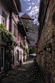 Schloss Eberstein im Murgtal