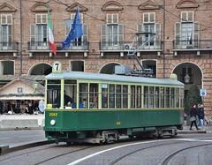 Torino, Piazza Castello 14.01.2018 (The STB) Tags: trasportopubblico publictransport citytransport öpnv tram tramway strassenbahn strasenbahn torino turin