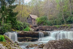 Grist Mill at Babcock (Singing Like Cicadas) Tags: 2018 spring westvirginia building waterscape waterfalls landscape outdoors may fayettecounty danese onethousandgifts 1000gifts appalachia historic