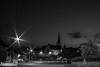 L'église de Montigné (Fotomaniak 53) Tags: nuit village église monochrome noir et blanc pose longue bw nb raw canon 550d digital ©fotomaniak53
